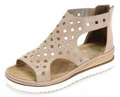 Rieker Shoes | Rieker Suede Lace Up Sandals Size 4 | Color