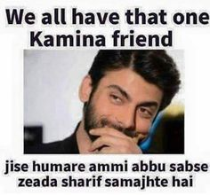 I'm still in touch with a lot of my friends there, Fawad Khan on his connection with Bollywood Bff Quotes, Jokes Quotes, Attitude Quotes, Friendship Quotes, Friend Quotes, Funny Facts, Weird Facts, Funny Jokes, Funny Mems