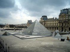 The Louve, Paris, France.