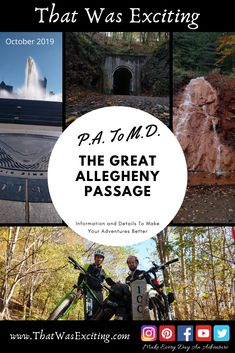 Bike Trails, Biking, Cumberland Maryland, Continental Divide, Mission Accomplished, Pittsburgh Pa, Bike Parts, Top Of The World, Camping Gear