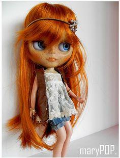 Hippie Blythe doll by marypop
