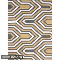 Shop for Structures Lina Area Rug (7'10 x 10'6). Get free shipping at Overstock.com - Your Online Home Decor Outlet Store! Get 5% in rewards with Club O! - 17327662