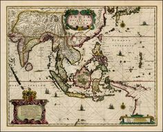 Antique Indian Maps | Will Work for Maps