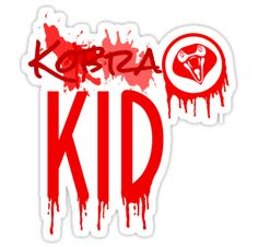 Kobra Kid paint splatter design • Also buy this artwork on stickers, apparel, phone cases, and more.