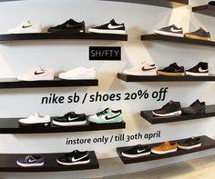 @shiftyskateshop 💁🏼♂️Deze maand 20% korting op alle nieuwe schoenen van #Nike SB. * Deze aktie is alleen geldig in de winkel. #enschede #skateshop #haverstraatpassage