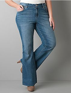 These jeans were a little long for me, but I love the way they look on me! Plus, they look cute with heels! :)