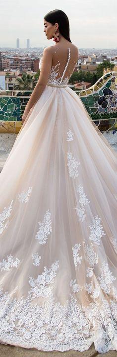 "Wedding Dresses by Milla Nova ""White Desire"" 2017 Bridal Collection | Part 2"