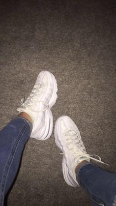 nike 95s white Shoe Room, Shoe Closet, Nike Air Shoes, Sneakers Nike, Nike Sandals, Colorful Nike Shoes, Sneakers Fashion, Fashion Shoes, Hype Shoes