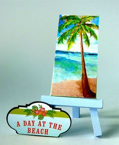 A Day on the Beach Mini slice of the beach by ASliceofTheBeach, $12.00