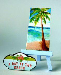A Day on the Beach Mini slice of the beach by ASliceofTheBeach, $12.00