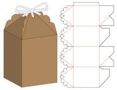 Embalagem caixa de design de modelo de c...   Premium Vector #Freepik #vector #alimento #negocio #projeto #modelo