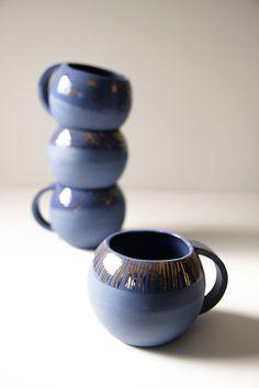 #Tazas de porcelana ideales para cualquier #merienda o #desayuno. #menajedecocina