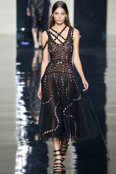 Christopher Kane Spring 2015. See the whole collection on Vogue.com.