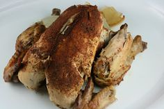 Crock pot rotisserie chicken- I use a 3lb bag of frozen chicken breasts because I don't like cooking with whole chicken but want the flavor. We used it for several meals- salad, quesadillas, etc.