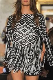 We're Making: Fringed Tops #Emilio Pucci