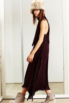 10 Crosby Derek Lam | Fall 2014 Ready-to-Wear Collection | Style.com - Dress & Booties