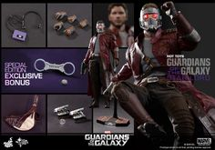 Hot Toys - MMS255 - Guardians of the Galaxy: 1:6 STAR-LORD
