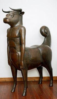 Entrez dans un univers merveilleux, celui des sculpteurs François-Xavier et Claude Lalannne. Le musée des Arts décoratifs avec le scénographe Peter Marino ont créé un monde féerique mettant en scène ces drôles d'animaux.