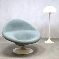 F422 (Globe) lounge chair by Pierre Paulin for Artifort, 1970s