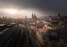 Prague Light by Michal Vitásek on 500px