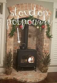 Image result for wood burning stove alcove installation
