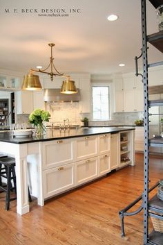 Kitchen Dreaming:: Statement Lighting Mix of metals
