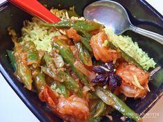 Surinaamse garnalen met Pakistaanse Rijst door Tracy