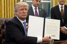 Washington becomes first state to sue Donald Trump over 'Muslim ban'