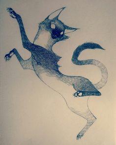 Animal Drawings, Cool Drawings, Dessin Old School, Cat Sketch, Creature Concept Art, Cat Drawing, Grafik Design, Cat Art, Art Sketches