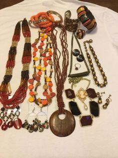 Vintage To Now Costume Fashion Jewelry Lot..micro Min Rhinestone