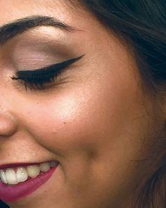 Maquiagem feita na funcionária Carol Santana para o site MP Agencia da Moda