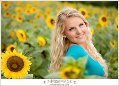 In His Image by Julie | Charlotte Wedding Photography and Family Portraiture | Mallory's Senior Session Sunflower Sessions Day One