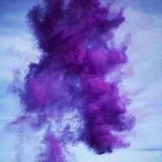 Rob and Nick Carter - RN879, Paint Pigment Photograph, Dioxazine Violet, 2012 · © Copyright 2016