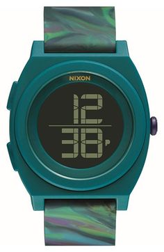 Nixon 'Time Teller' Digital Watch, 40mm available at #Nordstrom