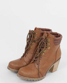 Bottines à lacets marron Happy Shopping, Clothes For Women, Women's Clothes, Combat Boots, Fashion Accessories, Wedges, Shoes, Style, Design