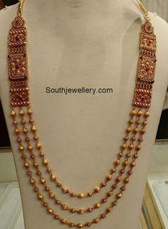 Antique Gold Long Chain