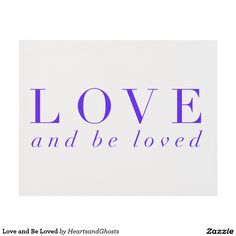 Love and Be Loved Panel Wall Art
