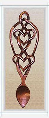 Eternal Knot Love Spoon - 030