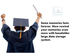 Some #memories lasts forever. Now rewind your memories even more with #basefolder large data storage system !! Visit : http://www.basefolder.com