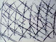 Antonio Basso. Abstract charcoal #drawing, from the crossroads series.  www.yasoypintor.com