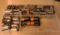 Battery organization