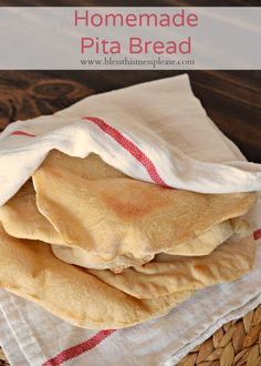 Homemade pita bread with words, wheat pita bread recipe, whole wheat pita bread, how to make pitas at home, King Arthur Flour pita bread recipe