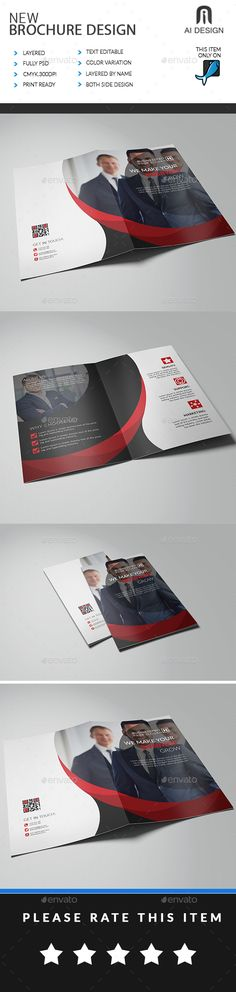 """Business Bi Fold Brochure - Brochures Print Templates This is a Business Bi Fold Brochure . This template download contains 300 DPI, Print-Ready, CMYK, Layerd PSD files. All main elements are editable and customizable. Features: Easy Customizable and Editable. Bi Fold Brochure Design in 11.25""""x8.75"""" with Bleed Setting (0.25 inch). CMYK Color. Design in 300 DPI Resolution. Print Ready Format. Last Version Used-Adobe CC 2014 Photos are not included."""