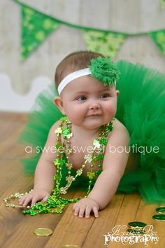 Belle Of Ireland Tutu St Patrick's Day Tutu by ASweetSweetBoutique, $30.00