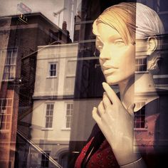 reflective mannequin & reflection by chris jannides, via Flickr