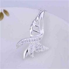 "Claudia ""Graceful"" Necklace #cateandchloe #jewelry #silver #necklace #claudia"