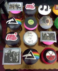 Pink Floyd cupcake set