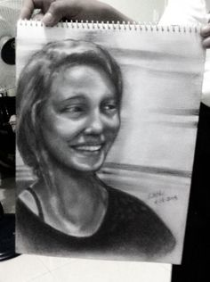 A Certain Smile - Creative Art in Sketching by Liloth Gob in Portfolio Sketches at Touchtalent