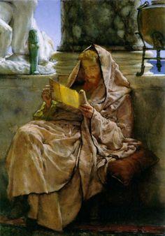 Sir Lawrence Alma-Tadema (Sir Lawrence Alma Tadema) (1836-1912)  Prose