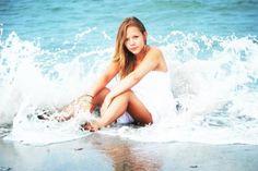 Beach portrait photography ideas